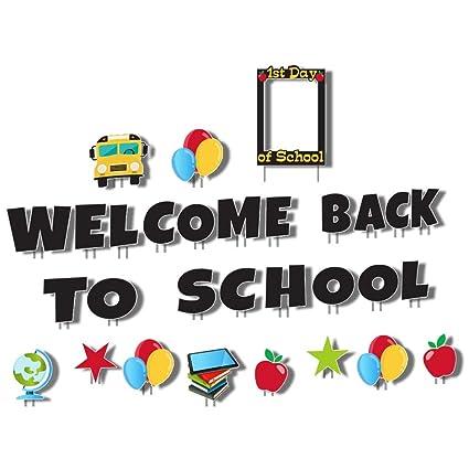 Amazon.com: VictoryStore - Letras de bienvenida a la escuela ...