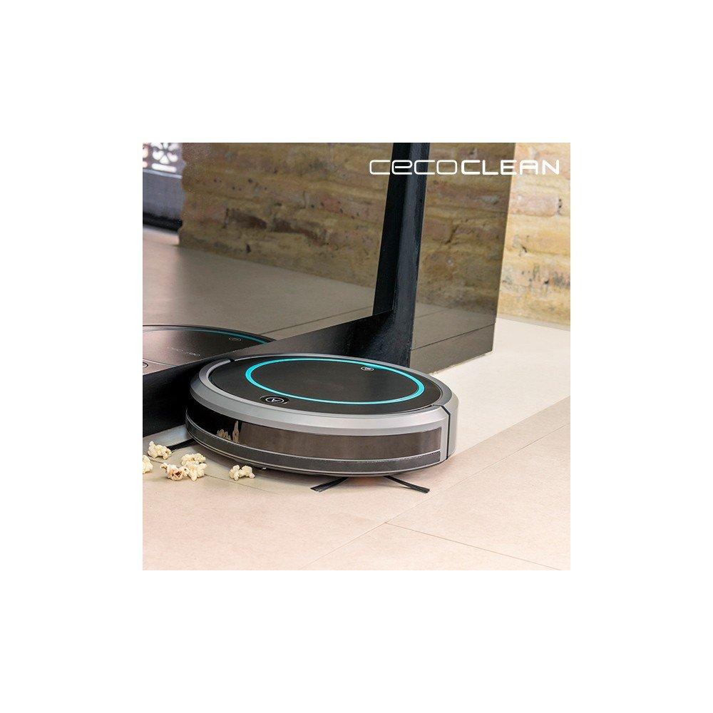 Robot Aspirador con Mopa y Depósito de Líquidos Cecoclean Wet 5048 0 ...
