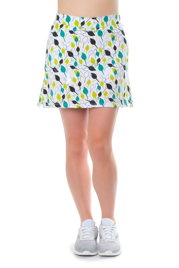 Haute Shot Micro-Poly Skort for Travel, Everyday, Golf, ect, Slimming fit, Breathable Comfort.