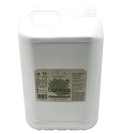 Champú profesional Neutro suave BAMBOO NATURAL Sin parabenos uso frecuente 5000ml.(Garrafa) MOI