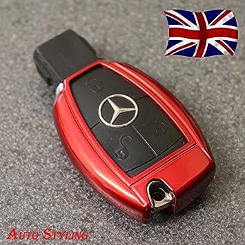 Clave funda para Mercedes Benz A B C CLA CLS CLK E S SL SLK ...