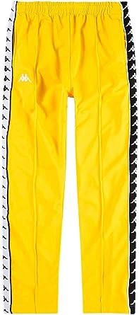 Amazon Com Kappa Pantalones Astoria Amarillo Mujer S Clothing