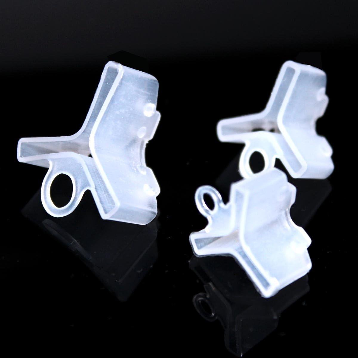 Details about  /Durable Plastic Caps Protector Hooks Covers Case Fishing Treble Hooks Bonnets
