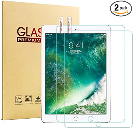 2X Apple iPad Pro 9.7 Air 1 2 5th 6th Gen Tempered Glass Screen Protector Guard