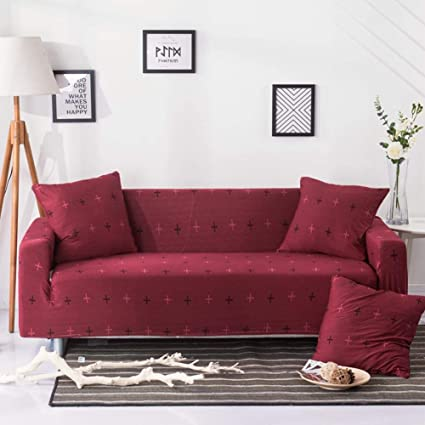 Amazon.com: WOMACO Printed Large Sofa Slipcover Stretch Couch Covers ...