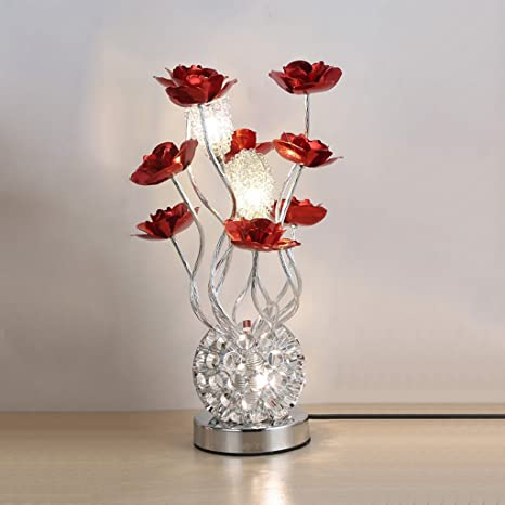 Decorative Metal Aluminium Artificial Flower Vase Ornament