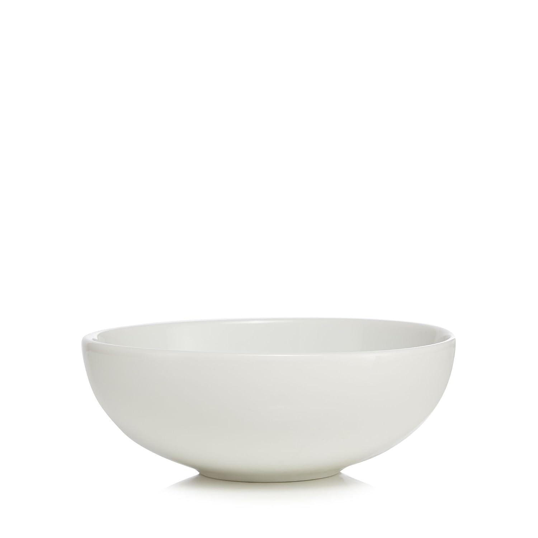 Ben De Lisi Home White 'Dine' Cereal Bowl