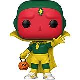 Marvel WandaVision - Boneco Pop Funko Halloween Vision #716