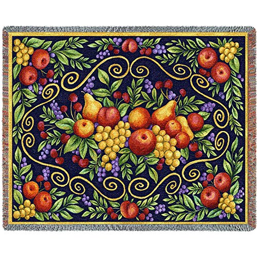 Pure Country Weavers Floral Tapestry (Pure Country Fruit Design Blanket Tapestry Throw)