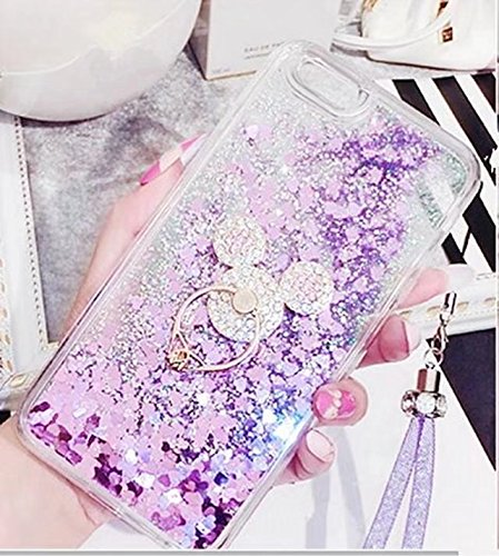 Galaxy Note 4 Case,Luxury Shiny Bling Glitter Moving Liquid Quicksand Dynamic Sparkle Diamond Ring Kickstand Soft TPU Cover For Samsung Galaxy Note 4,NO6