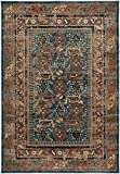 Rizzy Home BV3728 Bellevue Power-Loomed Area Rug, 2-Feet 3-Inch by 7-Feet 7-Inch, Southwest, Blue