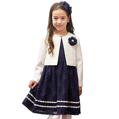 e75f63a2432aa CHOPIN(ショパン) 8901-8303 チュールレースアンサンブル 115 120 130cm 入学式 女の子