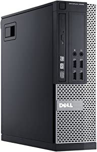Dell Optiplex 9020 SFF High Performance Premium Business Desktop Computer, Intel Core i7-4770 up to 3.9GHz, 16GB RAM, 1TB HDD, WiFi, Windows 10 Pro (Renewed)
