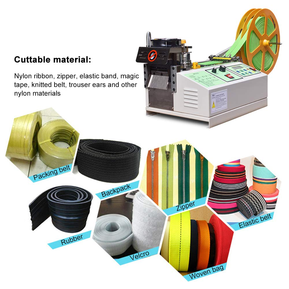Automatic Hot Cold Tape Cutting Machine Webbing Cutting Machine For