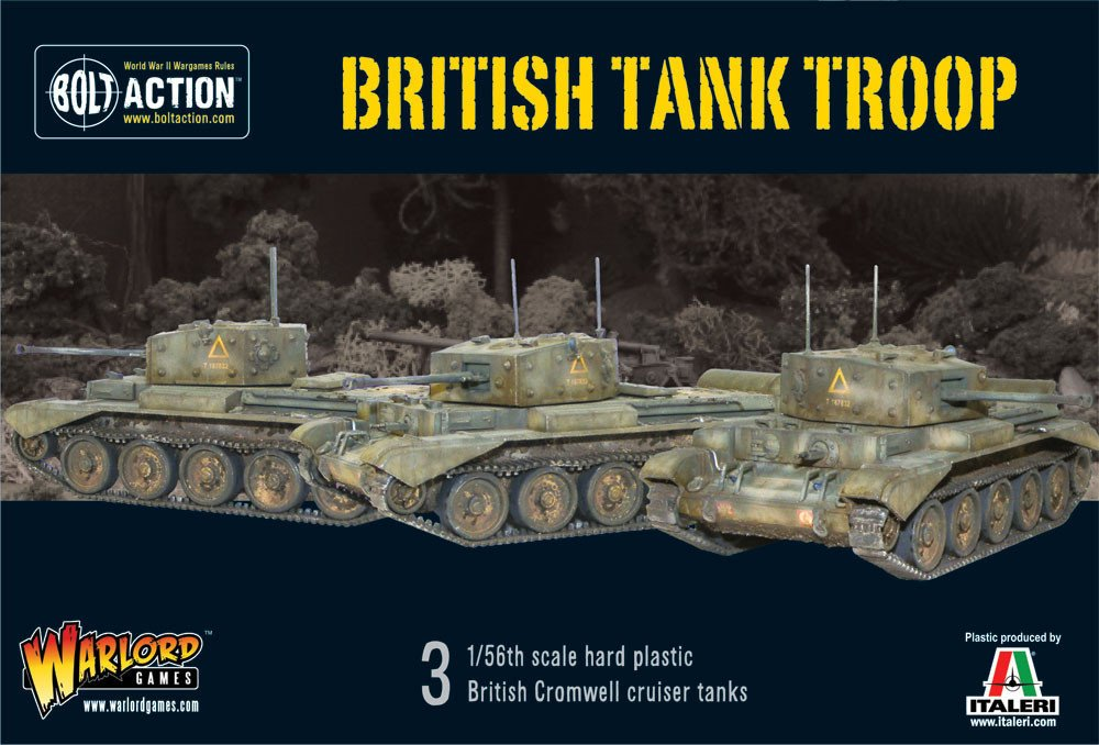 Britische Panzer Troop - 3 1   56.-Skala