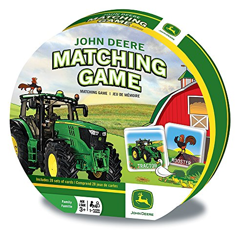 MasterPieces John Deere Matching Game Cards (Johnny Tractor Puzzle)