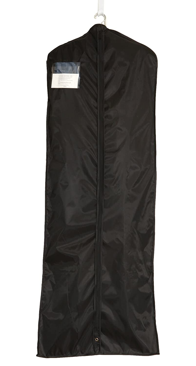 Garment Bag - Black Large Dress Clothing Protector 63X22 Living Healthy Products GBDRE-001-01