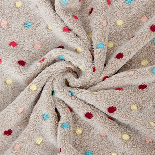 Pawz Road Pet Dog Blanket Fleece Fabric Soft And Cute Grey