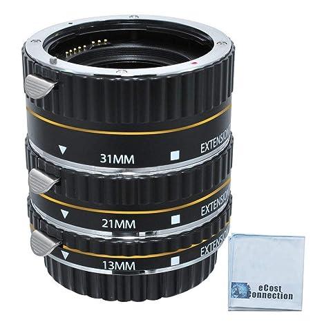 Enfoque automático tubo de extensión macro Set para Nikon D300 ...
