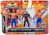 WWE Wrestling Exclusives Diego, El Torito & Fernando Exclusive Action Figure 3-Pack