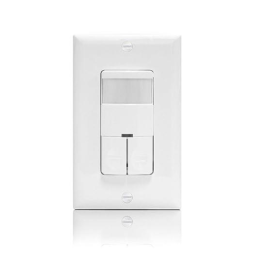 nicor iluminación interruptor de pared ocupación/Sensor de ...
