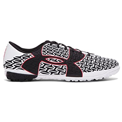 Under Armour Men's UA CF Force 2.0 TR White/Risk Red/Black Sneaker 11.5