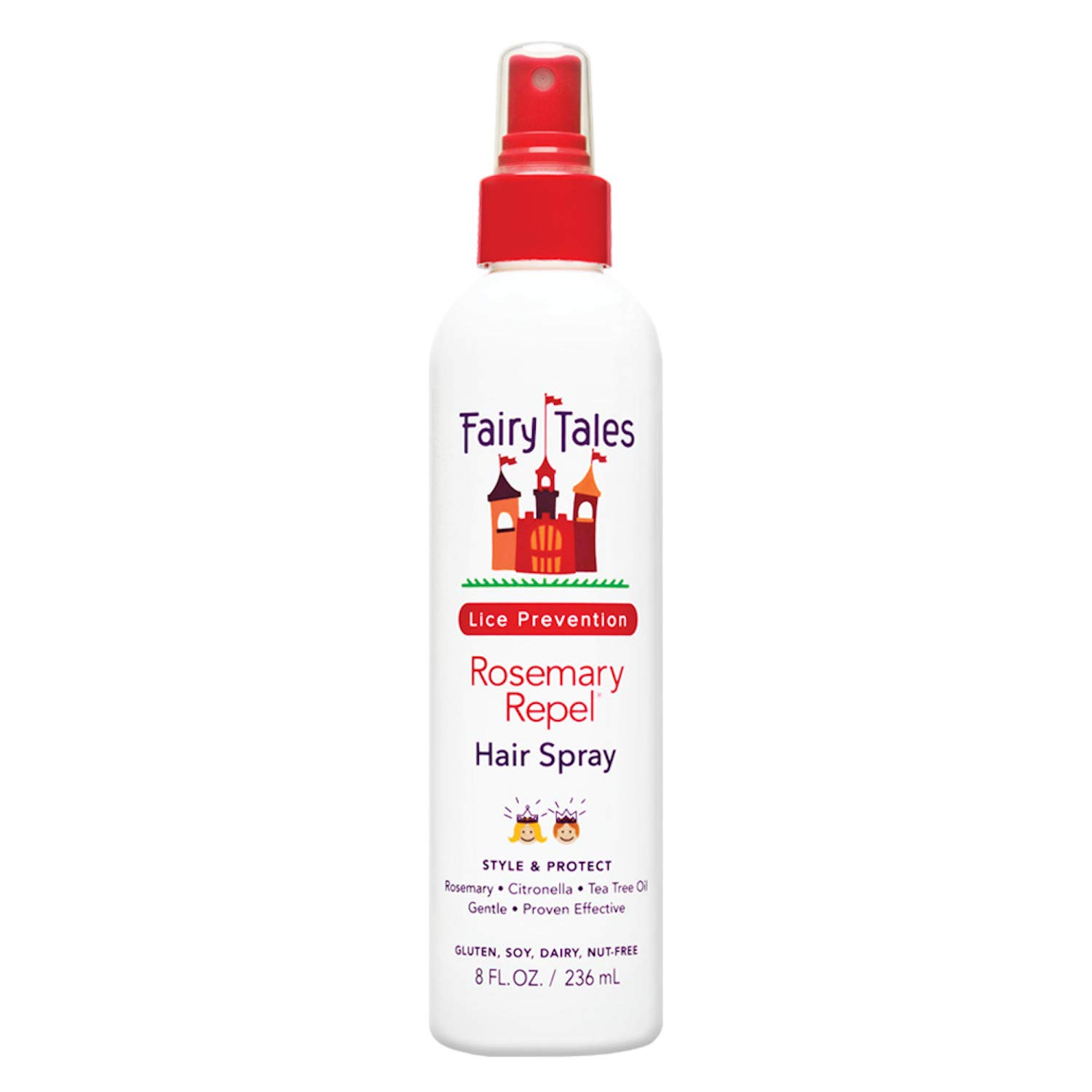 Fairy Tales Rosemary Repel Daily Kid Hair Spray for Lice Prevention - 8 oz