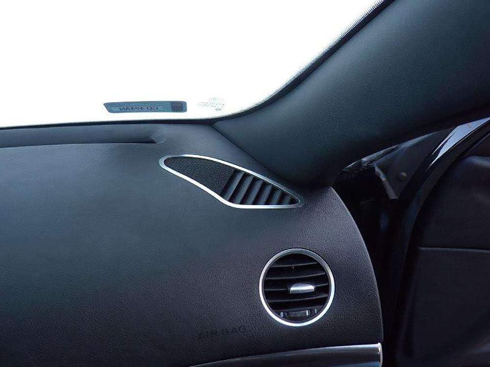 939 2 St/ück Defrosterd/üsen Rahmen Zubeh/ör Edelstahl Geb/ürstet Blenden Cockpit Dekor Mass Angefertigt Interieur Stahlabdeckung f/ür Alfa/_Romeo 159 /& BRERA /& SPIDER