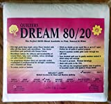 Quilter's Dream 80/20, Natural, Select Loft Batting - Twin Size 93''X72''