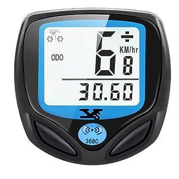 DINOKA - Velocímetro inalámbrico para Bicicleta, Resistente al ...