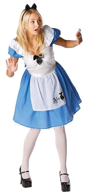 rubie s offizielles klassisches erwachsenen kostum fur damen in alice im wunderland