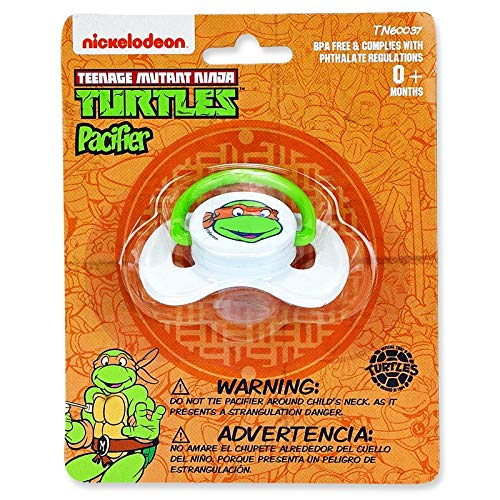 Amazon.com : Nickelodeon Ninja Turtles 9 oz Baby Bottle & Pacifier ...