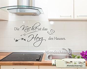 Wandtattoo Küche**Die Küche ist das Herz des Hauses Wandspruch ...