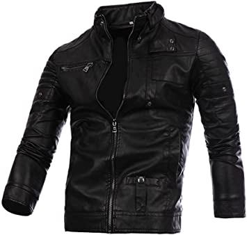 Marca Goodthreads chaqueta motera para hombre