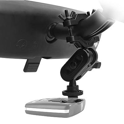 MvToe Easy Install Rear View Mirror Radar Detector Mount Car Accessories for Escort MAX, Max II, Max 2, MAX360 Radar Detector (Not for MAX360C Cradle Radar): Car Electronics