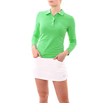 Sportkind Girls & Ladies Tennis / Golf / Sports Long Sleeve Polo ...