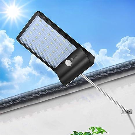 Energy Saving Outdoor Solar Power Garden Light PIR Wall Lamp 3 LED Street Lig-#
