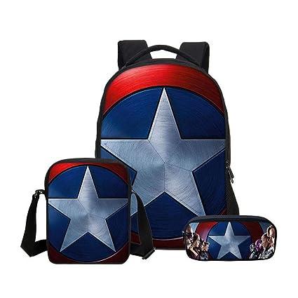 sacs d/'école cartable pour garçons sacs à dos imperméables enfant Spiderman