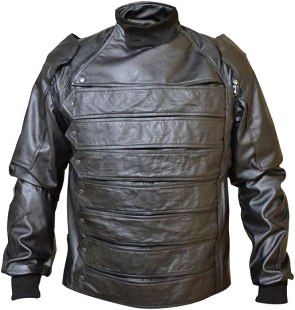 SRHides Mens Fashion Stylish Real Leather Jacket