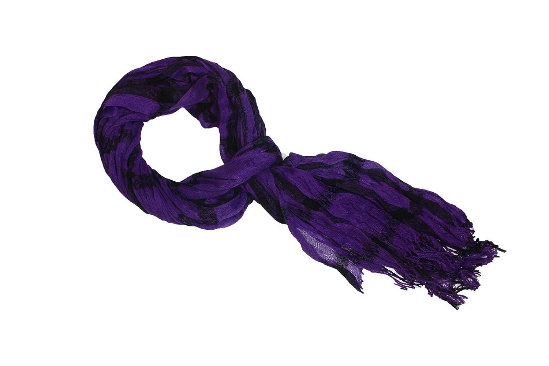 80's Purple Fashion Scarf