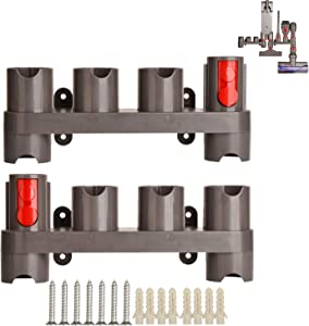 Mount Holder for Dyson V7 V11 V8 V10 Absolute Animal Trigger Motorhead Vacuum Cleaner Attachments Organizer with Expansion Screws,Use On Docking Station Or On Wall