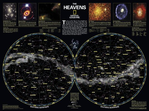 By National Geographic Maps - Reference The Heavens [Laminated] (National Geographic Reference Map) (2010) [Map] pdf epub