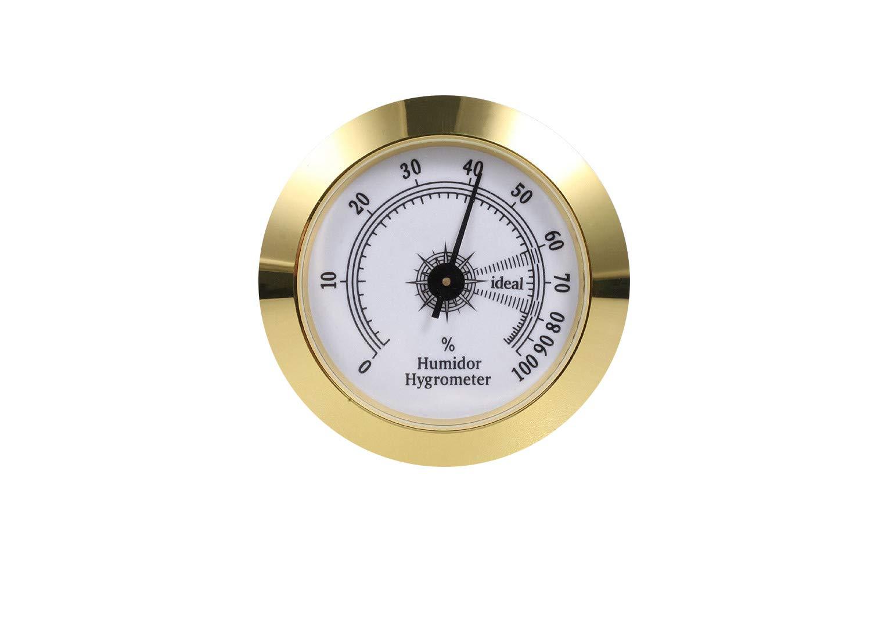 Amazon.com: FUNEW Cigar Hygrometer,Round Analog Hygrometer ...
