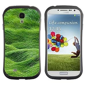 "Hypernova Slim Fit Dual Barniz Protector Caso Case Funda Para SAMSUNG Galaxy S4 IV / i9500 / i9515 / i9505G / SGH-i337 [Verano Naturaleza Hierba Campo Verde""]"