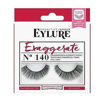 b0429a52eba Eylure Strip Lashes No.140 (Exaggerate): Amazon.co.uk: Beauty