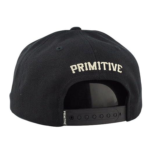 77c965495dc Primitive Men s Slab P Snapback Hat Black  Amazon.co.uk  Clothing