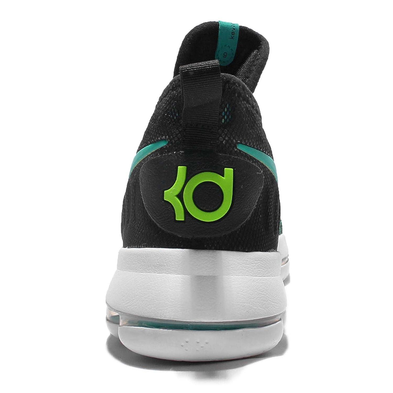 watch de789 cb55a Amazon.com  Nike Kids Zoom KD9 GS, BLACK CLEAR JADE, Youth Size 6.5  Shoes