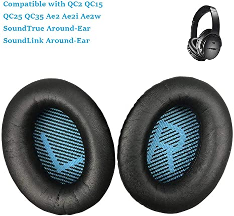 Replacement Cushion Ear Pads For Bose QuietComfort QC2 QC15 AE2 AE2i AE2W