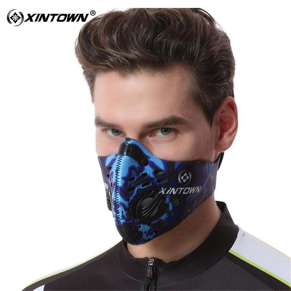 Dust Vestmon Bicycle Air Sport Mask Là Ski Anti-pollution Proof