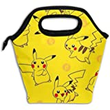 Insulated Lunch Bag Pikachus Printed, Thermal Or Refrigerated Reusable Lunch Tote For Work School Picnic